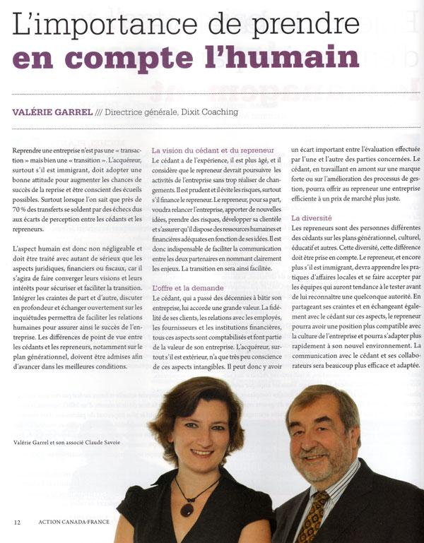 Revue de presse – septembre 2012